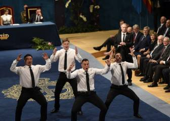 Haka en el Campoamor: los All Blacks, Princesa de Asturias