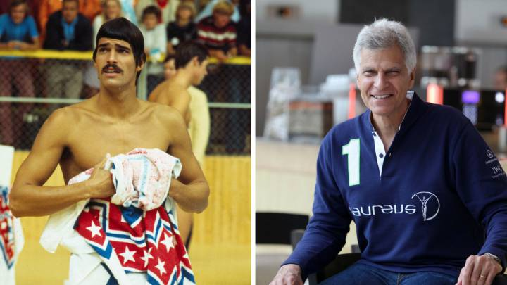 Mark Spitz: de nadador mítico a dentista en la TV con Bob Hope