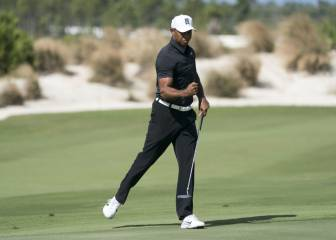 Tiger Woods satisfied after