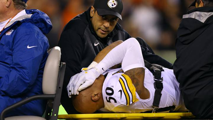 Shazier \'won\'t need surgery\', Smith-Schuster banned