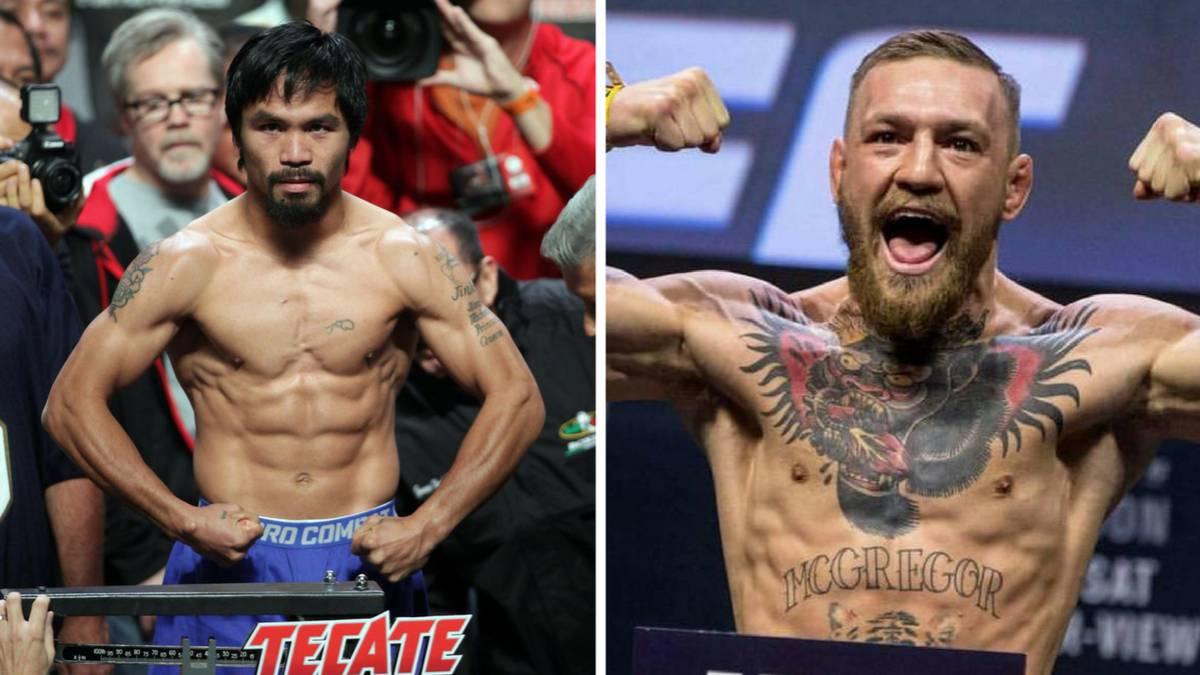 Pacquiao y McGregor, primera toma de contacto para su pelea