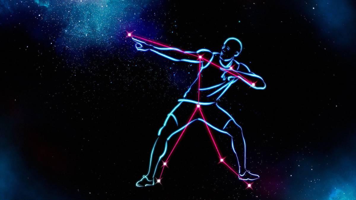 Usain Bolt ya tiene una constelación a su nombre
