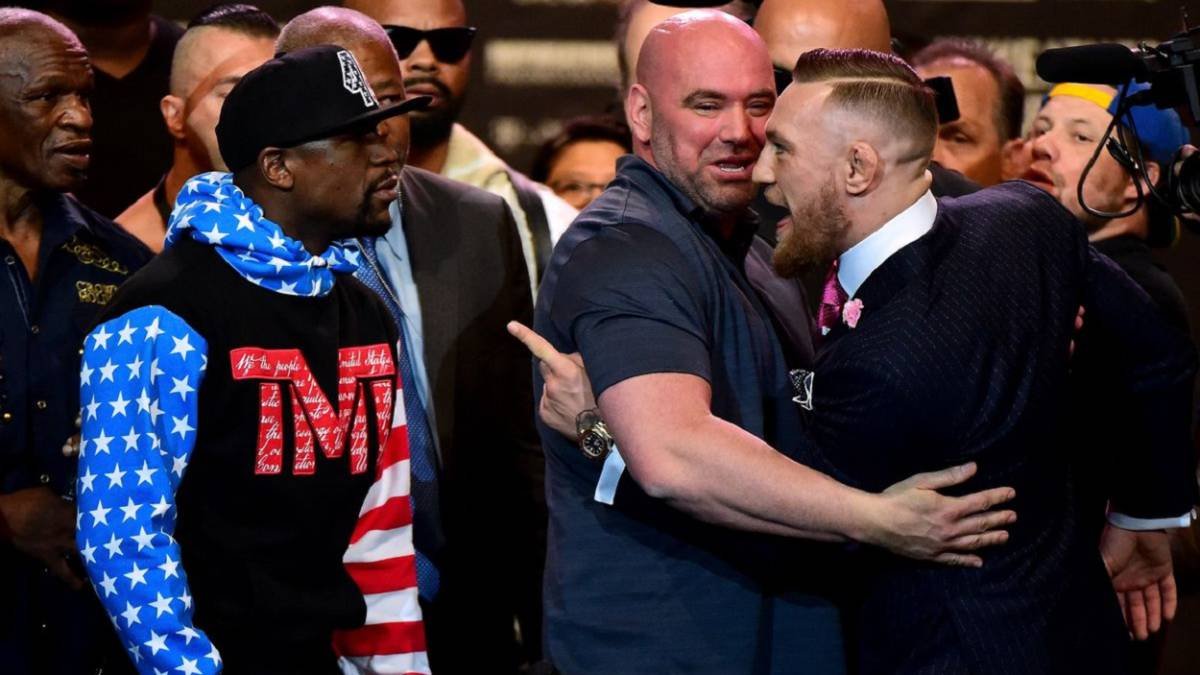 El presidente de la UFC confirmó negociaciones con Mayweather para una pelea