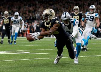 Saints derrotan in extremis a Panthers en un partidazo loco