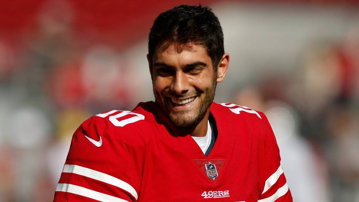 Jimmy Garoppolo hace llorar de felicidad a la afición de los 49ers