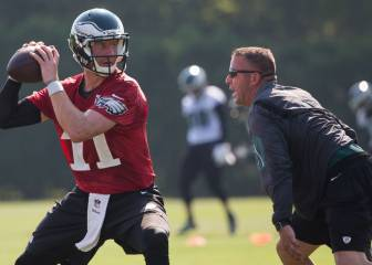 Los Eagles pierden a su entrenador de quarterbacks