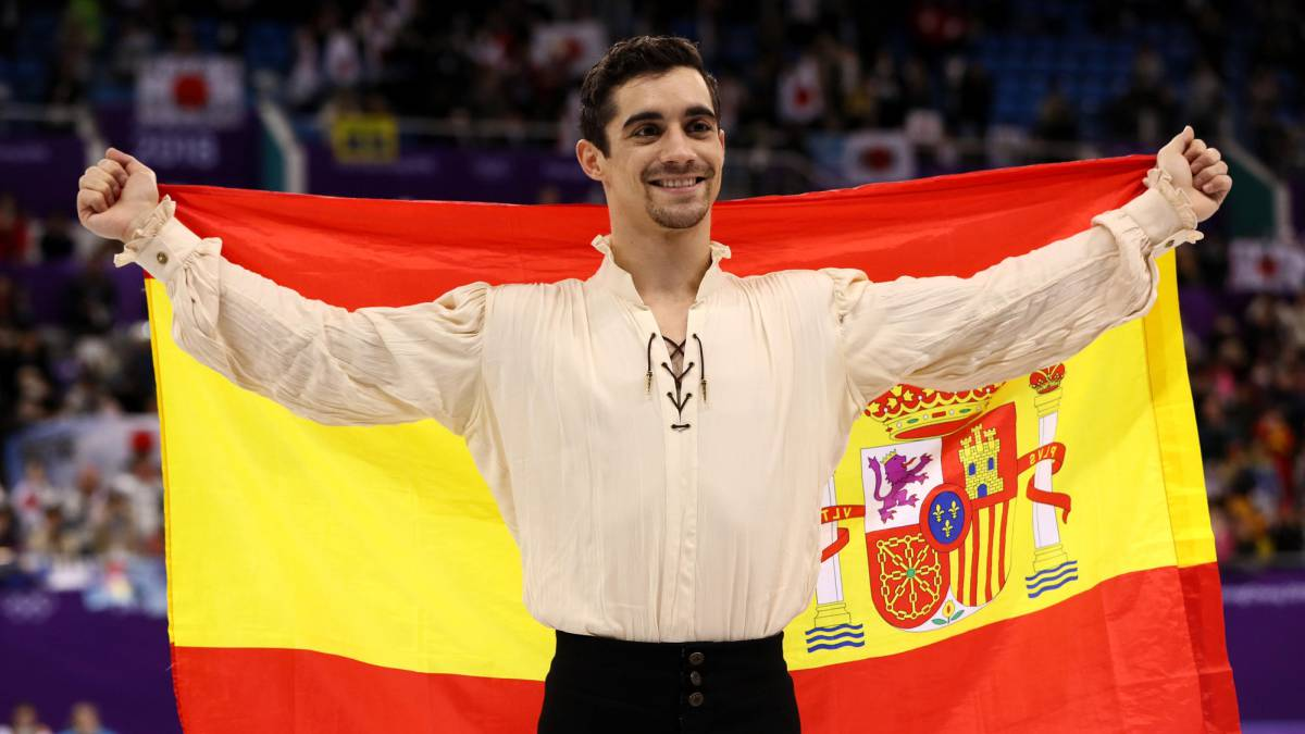 Javier Fernández wins bronze for Spain in Pyeongchang