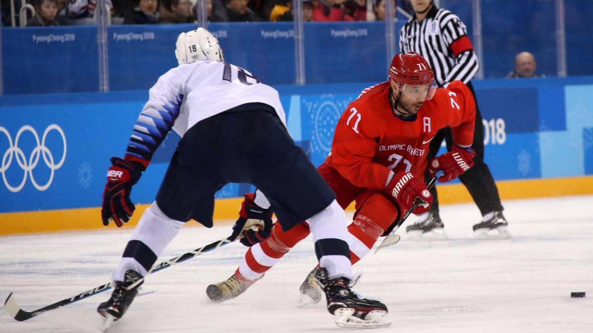 Rusia no permite milagros en hockey hielo: 4-0 al Team USA