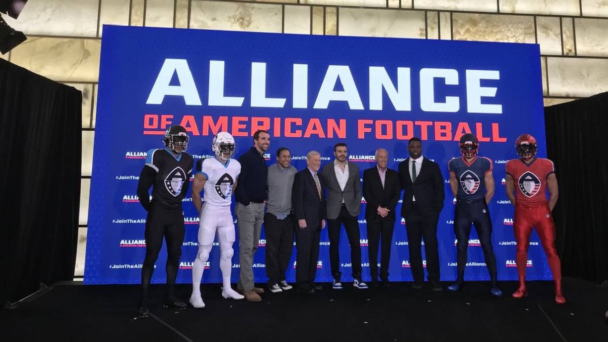 "La NFL reacciona a la XFL y crea la ""Alliance of American Football"""