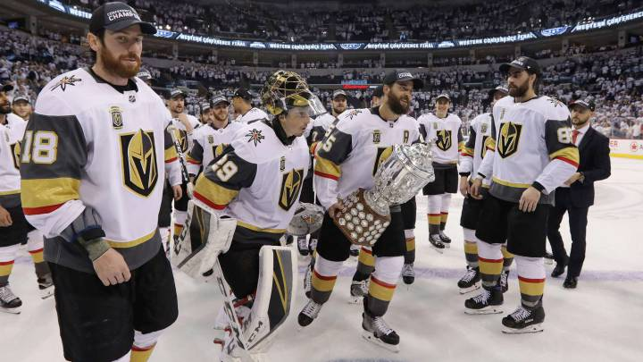 Las Vegas Golden Knights ya están en la final de la NHL