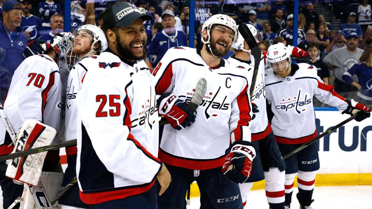 Los Washington Capitals, a la final de la Stanley Cup