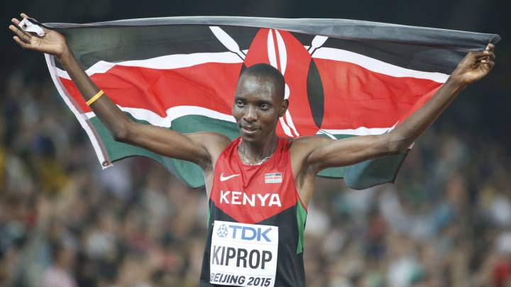 Asbel Kiprop no recurrirá su sanción: \