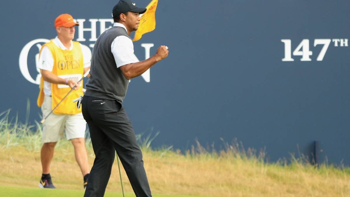 Tiger Woods ha vuelto: luchará por el triunfo en el British Open