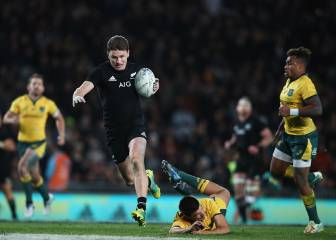 Los All Blacks destrozan a Australia y se llevan la Bledisloe