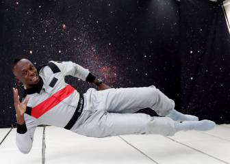 Usain Bolt goes Zero-G