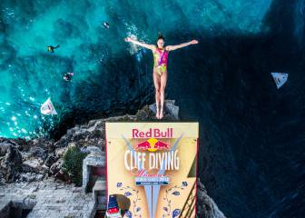 Las imágenes del Red Bull Cliff Diving World Series en Polignano a Mare