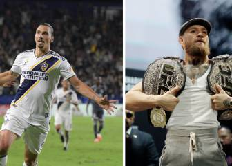 Ibrahimovic 'traiciona' a McGregor: