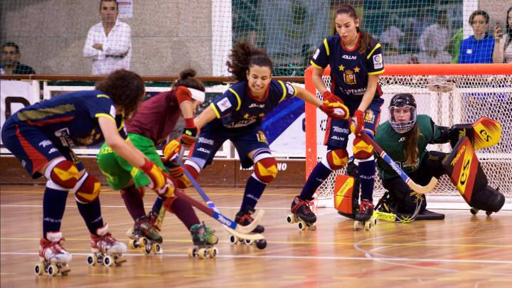 España y Porrtugal, en el Europeo de hockey patines