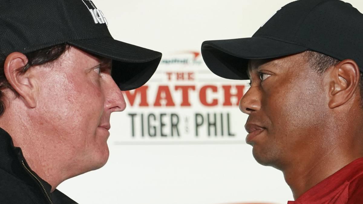 Tiger doubles Mickelson\'s first hole bet to $200,000