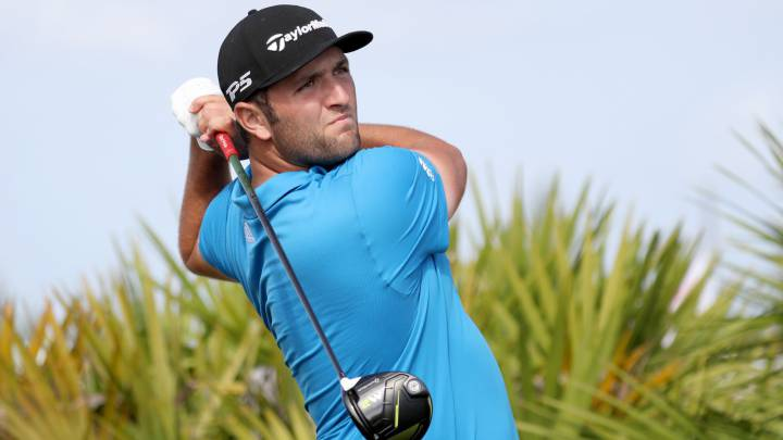 Jon Rahm, en el Hero World Challenge