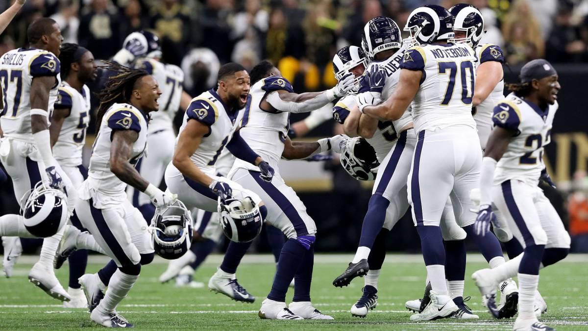 Rams remontan a Saints en el tiempo extra con un patadón