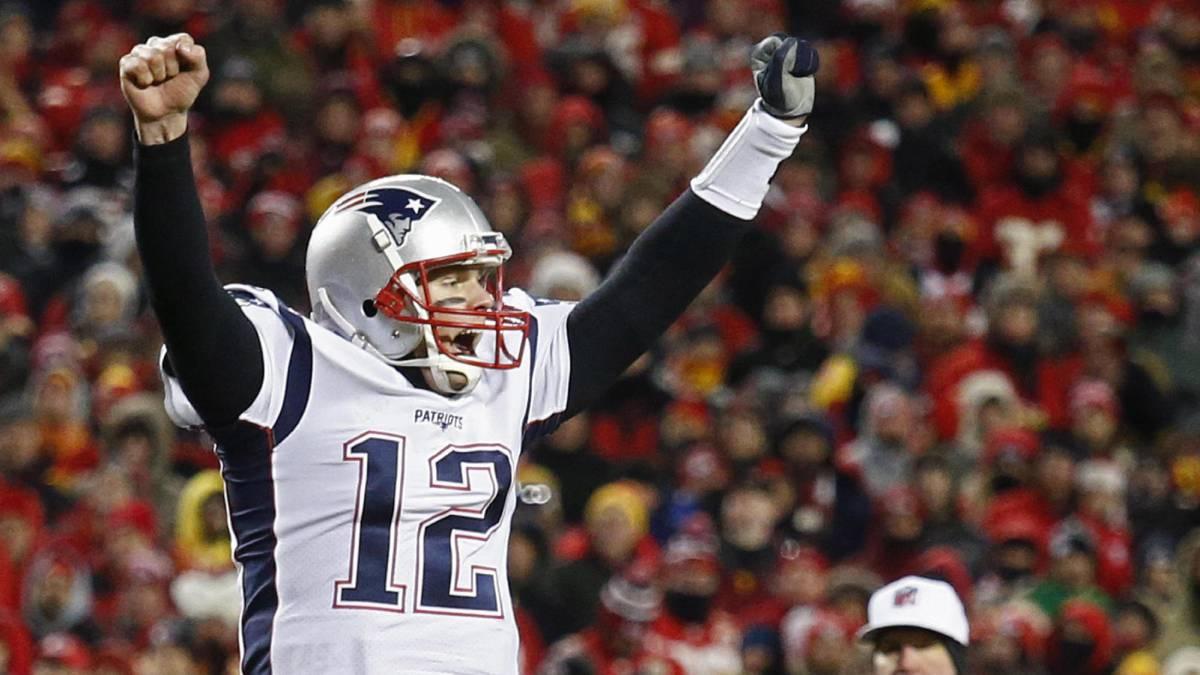 Tom Brady y Belichick ganan a Chiefs y vuelven a la Super Bowl