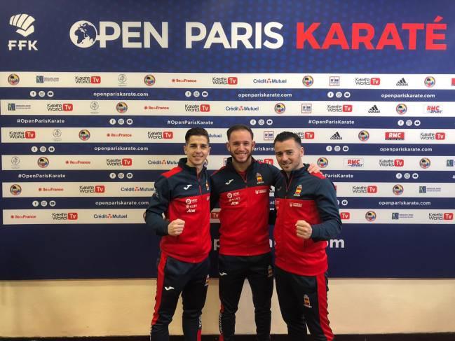 El equipo masculino español de katas.