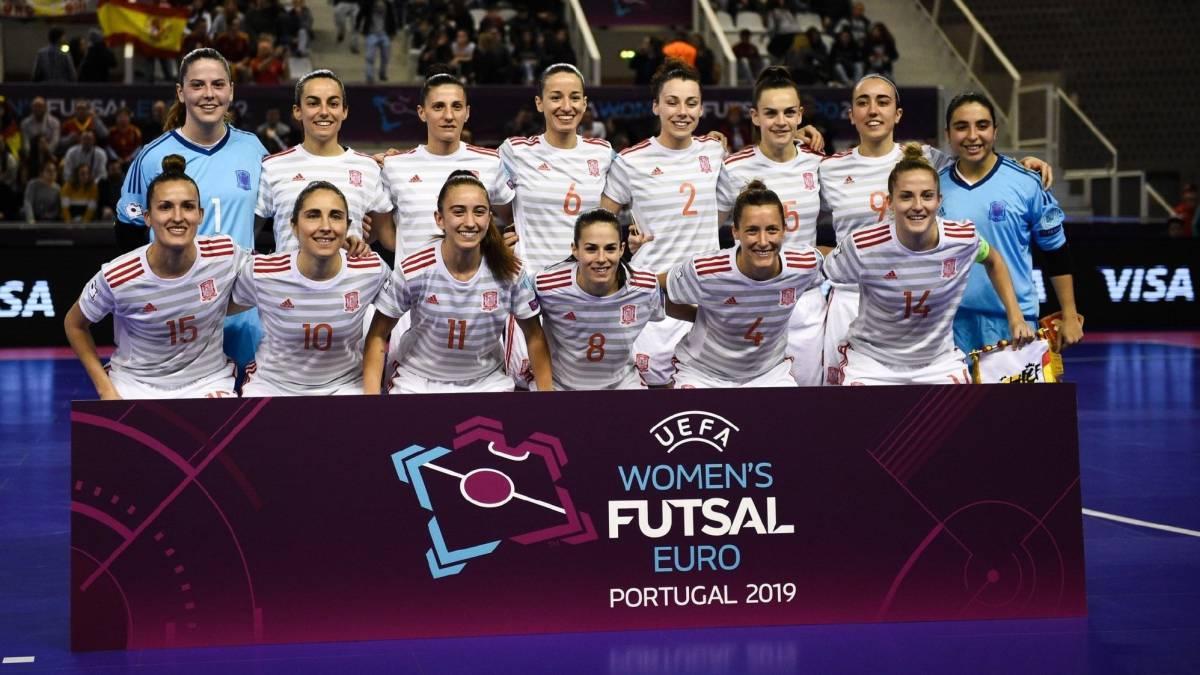 Quiénes son las campeonas de Europa de fútbol sala femenino - AS.com