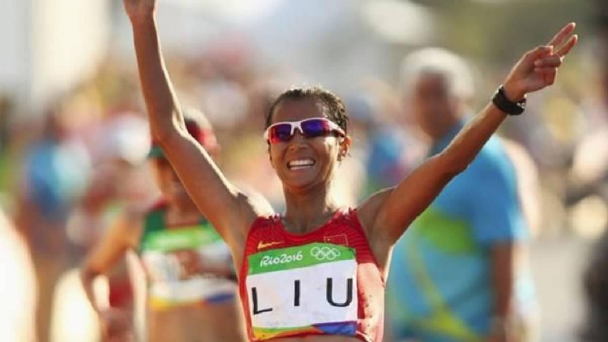 Liu Hong rompe la barrera de las 4 horas en 50 km marcha ed4c2109609