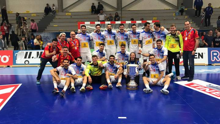 Calendario Europeo Balonmano 2020.Espana Conquista Noruega Para Ganar La Primera Eurocup As Com