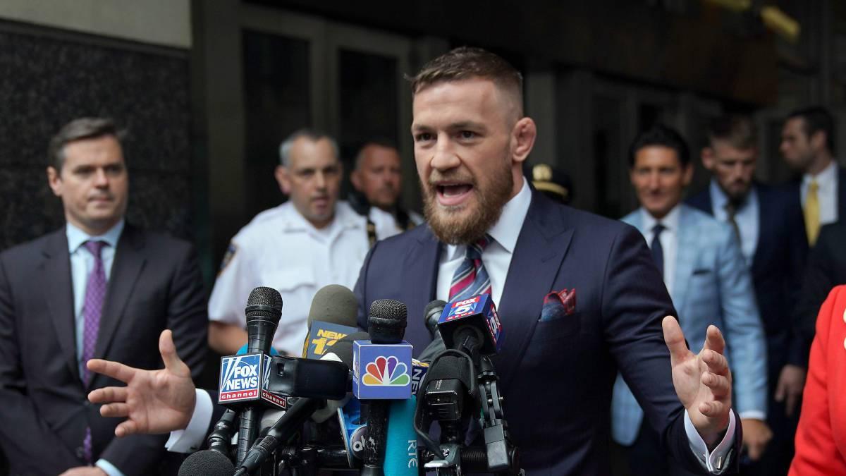 """McGregor, tras su agresión a un anciano: """"Me equivoqué"""""""