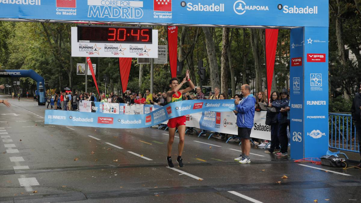 Yago Rojo gana 'Madrid Corre...' ante 10.000 corredores