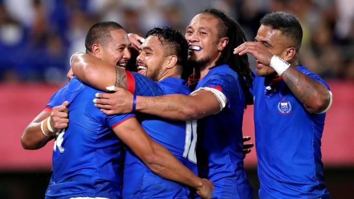 Samoa rugby Mundial 2019