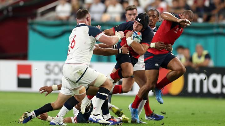 Inglaterra-EEUU Mundial rugby 2019