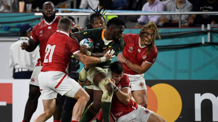 Sudáfrica-Canadá Mundial rugby 2019