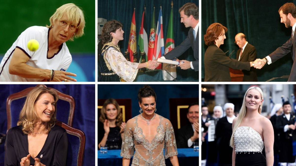 Vonn es la sexta mujer que recibe el Premio de los Deportes