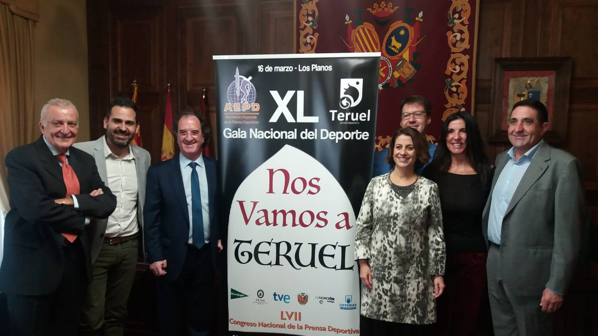 """""""Nos vamos a Teruel"""" será el lema de la Gala Nacional del Deporte - AS"""