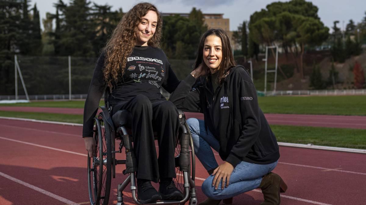 Loida Zabala y Alejandra Quereda