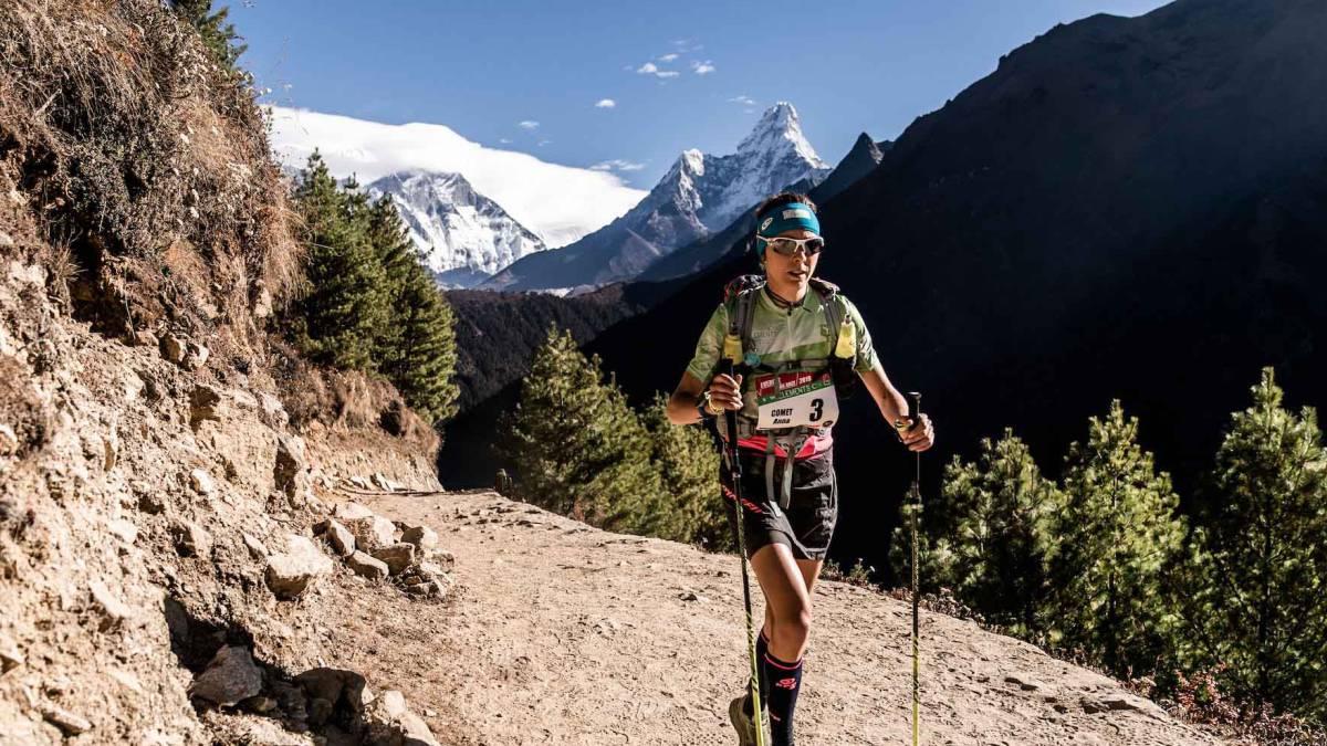 Anna Comet conquista la Everest Trail Race - AS