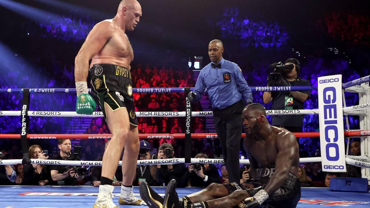El rey ha vuelto: Fury aplasta a Wilder para ser campeón