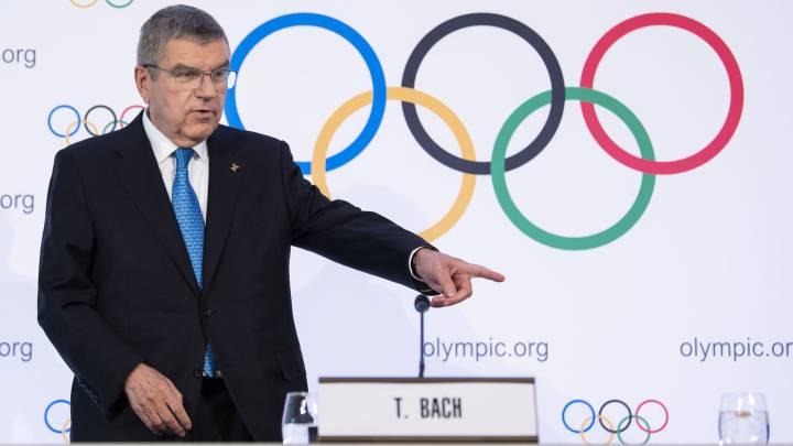 """Bach: """"Los Juegos no se pueden posponer como el fútbol"""" - AS.com"""