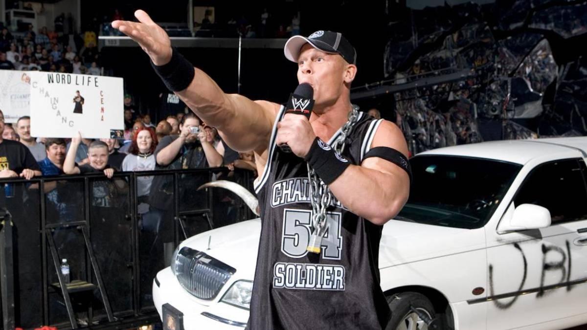 John Cena salvó su carrera al rapear sobre una lata de atún