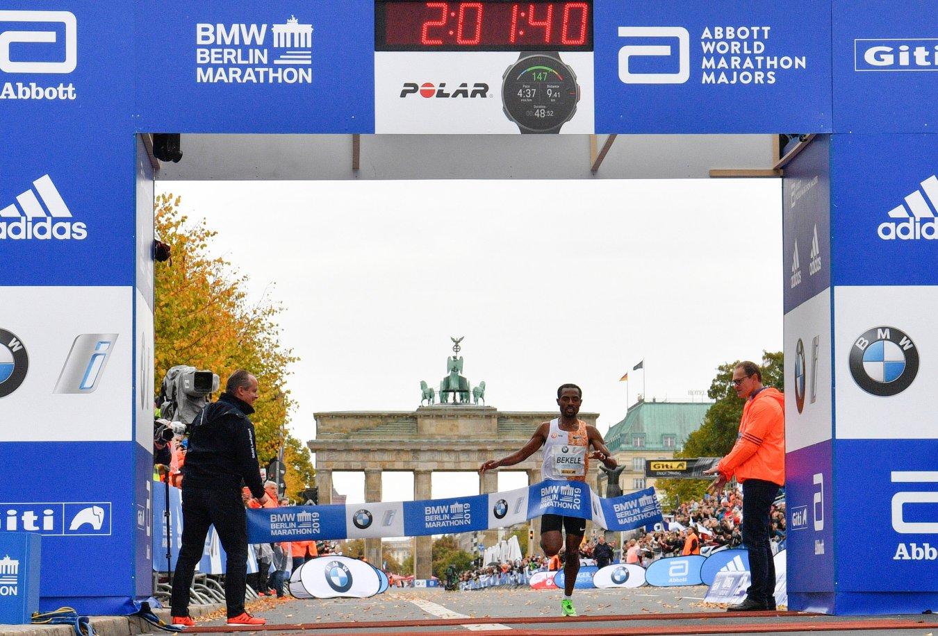 2. Kenenisa Bekele, 2h 01:41 (Berlino, 2019)