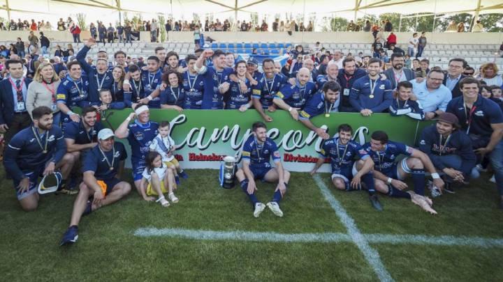 La División de Honor de rugby, cancelada: el VRAC es campeón