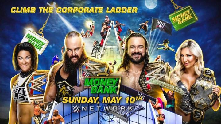 WWE Money in the Bank 2020: horario, TV, cartelera y cómo ver