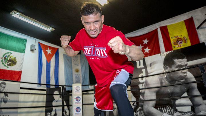 Reportaje del gimnasio en el que entrena Sergio 'Maravilla' Martínez.