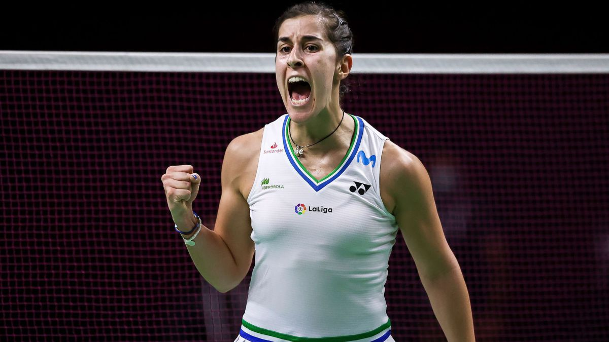 Carolina Marín starts the World Tour Finals with Victory