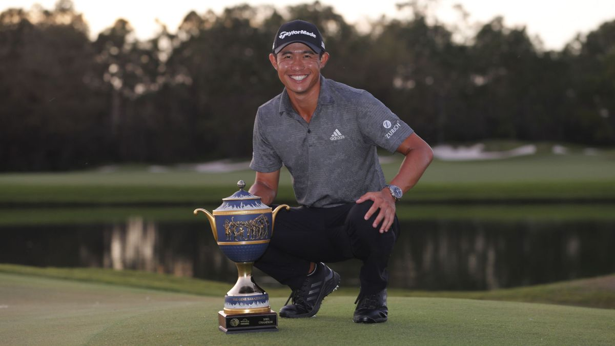 Collin Morikawa wins the tournament and remembers Tiger Woods