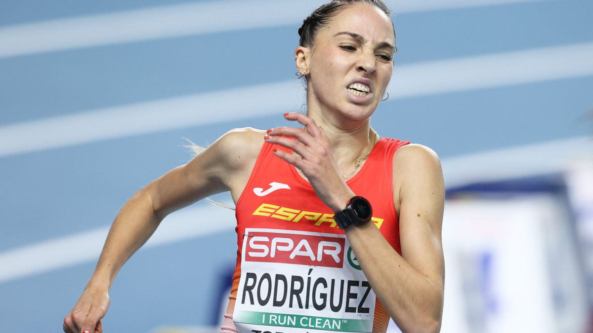 Lucía Rodríguez, 8ª en la final del 3.000 con marca personal