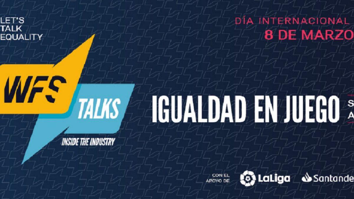 Siete mujeres líderes del deporte español apuestan por la igualdad en las WFS Talks